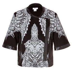 Helmut Lang Short Sleeve Urchin Print Jacket